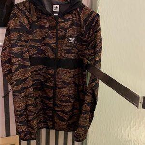 Adidas windbreaker (camouflage)